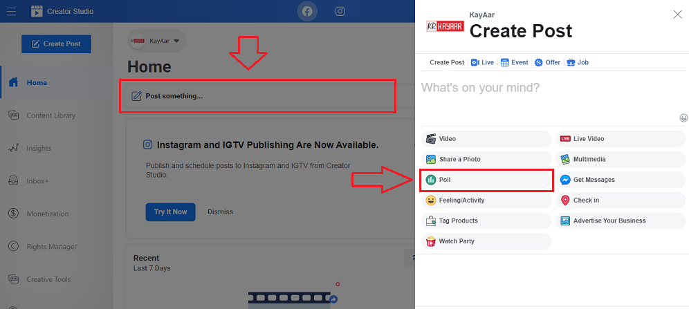 Is Facebook Removed Poll Option From Pages How to Create a Poll For a Page
